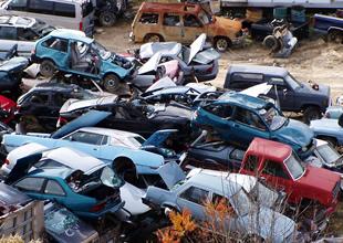 Bugüne kadar 118 bin araç hurdaya ayrıldı