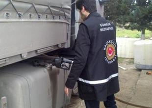 Malatya'da 270 bin litre kaçak akaryakıt