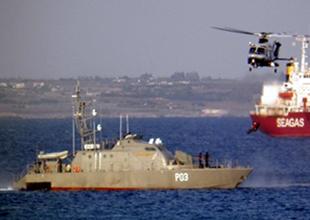 Akdeniz'de Nemesis 2014 tatbikatı yapıldı