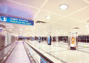 TAV Havalimanları'nı 'Vestel' aydınlatıyor
