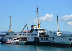 Kocaeli'nde Deniz Otobüsleri Bakıma Alındı