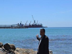 """Yeşilovacık Limanı'na ilk gemi yanaştı, """"Yeşilovacık, Karaovacık olmasın"""""""