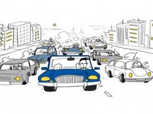 Trafikte 7 farklı tip var
