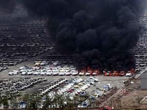 Çin'in liman kenti Tianjin yeni patlamalarla sarsıldı