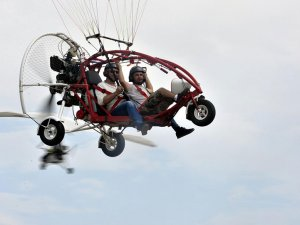 Gölyaka'daki havacılık festivali sona erdi