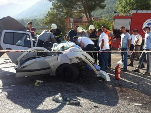 Antalya'da kaza: 5 ölü, 1 yaralı
