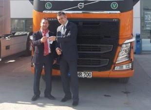 Yüzgüllü Grup ile Volvo Trucks'tan ilk işbirliği