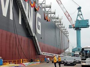 Seaspan yeni gemisi Yang Ming Wellness'ı teslim aldı