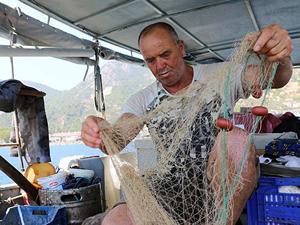 """""""Balıkçı kasabası""""nın tek balıkçısı"""