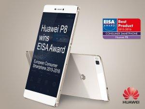 Huawei EISA'dan üçüncü kez ödülle döndü