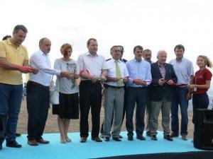 Uluslararası yamaç paraşütü festivali başladı