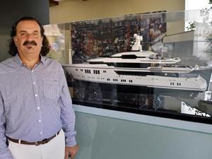 Antalya Serbest Bölgesi'nde 13 yılda 308 lüks yat inşa edildi