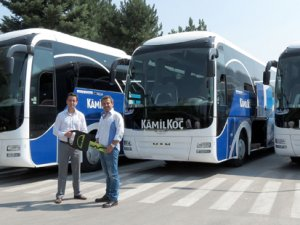 Kamil Koç Alanya'da da MAN'ı tercih etti