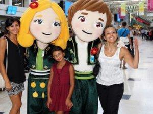 Antalya Havalimanı'nda EXPO 2016 rüzgarı