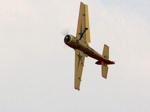 Model uçaklar kıyasıya yarıştı