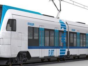 Stadler-Newag Firmalarının ortak üretimi olan trenler tanıtıldı