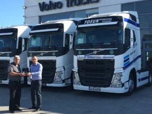 Tosun Nakliyat, çiçeklerini artık Volvo Trucks ile taşıyacak