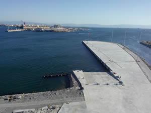 Kumcular Kooperatifi'nin Pendik'te yaptığı liman inşaatı tamamlandı