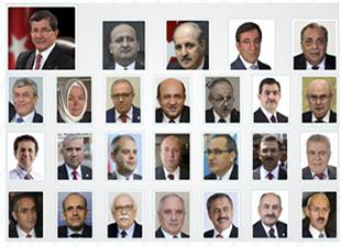 Başbakan Davutoğlu, seçim hükümetinin bakanlarını açıkladı
