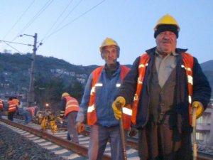 Demiryolu işçileri greve gidiyor