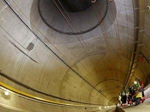 Dünyanın en uzun tüneli Gotthard Base'in inşaatı tamamlandı