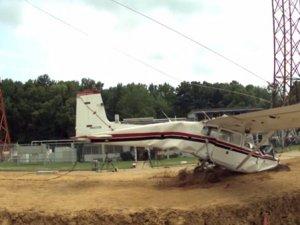 NASA araştırmalar için 3. kez uçak düşürdü