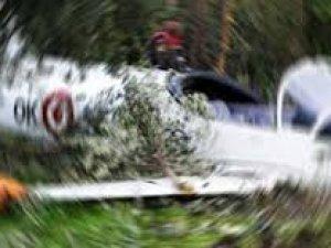 Avusturya'da küçük uçak düştü
