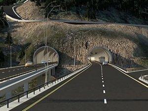 Zigana Tüneli, 500 milyon liraya mal olacak, 3 yılda tamamlanacak