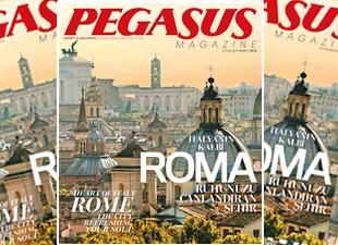 Pegasus'un uçak dergisi yenilendi