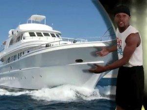 Floyd Mayweather'a 24 milyon dolarlık yat!