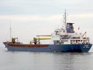 Türk bayraklı M/V AZIZE, Yunanistan'ın Stylis Limanı'nda tutuklandı