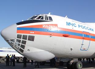 Atina ve Tahran'dan insani yardım uçaklarına izin