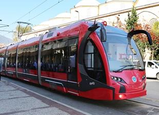 Bursa'da tramvay hattının ihalesi yapıldı