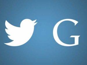 Google ve Twitter'dan ortak çalışma!