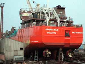 Bilal Erdoğan'ın yeni gemileri M/T ARMADA FAIR ile M/T TURKTER 82, sessiz sedasız denize indirildi