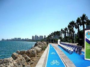 Mersinliler akıllı bisikletler ile sahili turlayacak