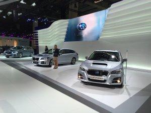 Subaru Levorg'un Avrupa Prömiyeri Frankfurt'ta!