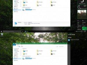 Bu bir Windows 10 Şeffaflık ayarıdır!