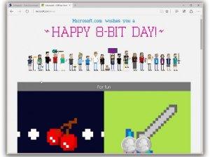 Microsoft 8-Bit için kutlama yaptı