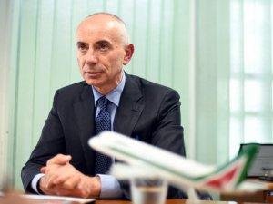 Alitalia'da sürpriz istifa!