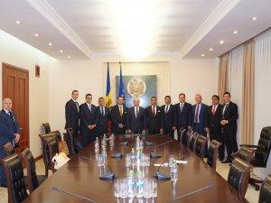 TÜRKONFED heyeti, Moldova Başbakanı ile iki ülke arasındaki ekonomik gelişmeleri konuştu
