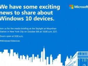 Microsoft 6 Ekim'de bombayı patlatacak!