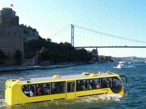 """İstanbul'a yüzen """"Amfibus"""" geliyor"""