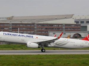 THY yeni uçağını İstanbul'a getirdi