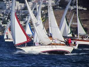 Bodrum Cup Uluslararası Yelkenli Ahşap Yat Yarışları için geri sayım başladı