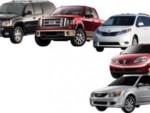 Bayramda en çok hangi araçlar kiralandı?