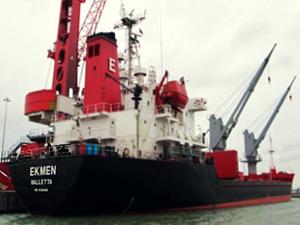 Türk Şirketine ait M/V EKMEN, Polonya'nın Police Limanı'nda tutuklandı