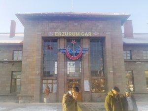 TCDD Erzurum'da 9 ayda 49 bin yolcu taşıdı