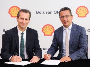 Borusan Oto ve Shell el sıkıştı