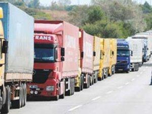 Doğu'ya taşımalar yüzde 75 düştü, 5 bin kamyon kontak kapattı
